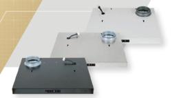 Designkåpa CPTJ, 600mm, VIT ansl. Vänster, FläktGroup