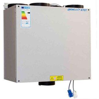 Värmeåtervinningsaggregat EvoAir A70T EPP, Acetec