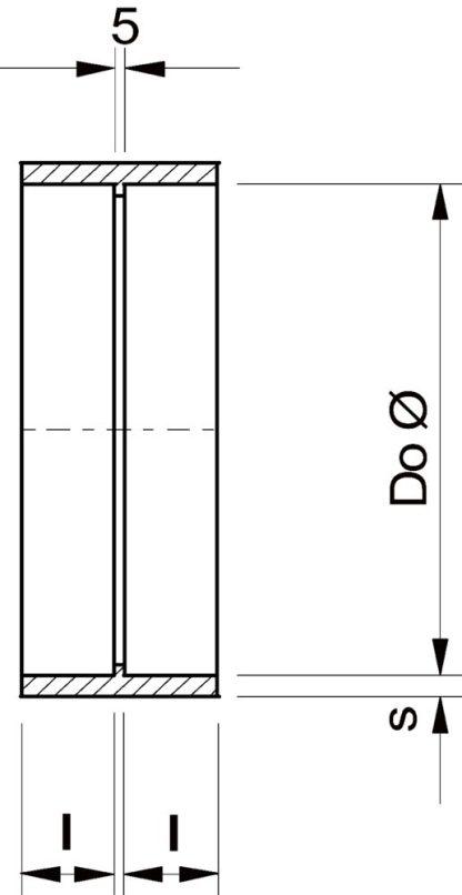 ASF-DVP 400 inloppsfläns (Systemair)